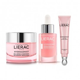 LIERAC Promo Pack  HYDRAGENIST SERUM 30ml + LIERAC HYDRAGENIST GEL-CRÈME 50ml + Lierac Hydragenist Gel Eye 15ml