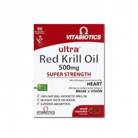 Vitabiotics RED ULTRA KRILL OIL 500mg 30caps
