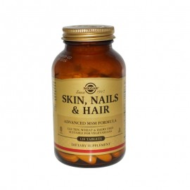 SOLGAR SKIN, NAILS AND HAIR FORMULA 120tabs