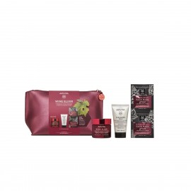 Apivita PROMO PACK Wine Elixir Αντιρυτιδική Κρέμα για Σύσφιξη & Lifting Πλούσιας Υφής 50ml & ΔΩΡΟ 3 in 1 Face & Eyes Cleansing Milk 50ml & ΔΩΡΟ Express Beauty Face Mask Grape 2x8ml & Τσαντάκι