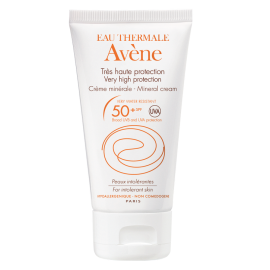 AVÈNE EAU THERMALE MINERAL 50ml SPF50 ΑΝΤΗΛΙΑΚΗ ΚΡΕΜΑ