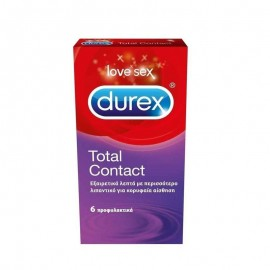 Durex Προφυλακτικά Total Contact 6pic