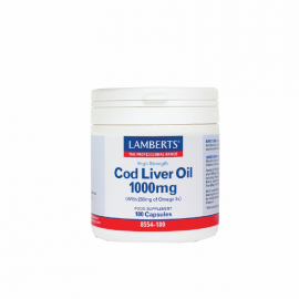 Lamberts Cod Liver Oil 1000mg 180caps