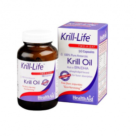 HEALTH AID Krill-Life 100% Pure Antarctic 90caps