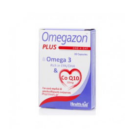 HEALTH AID OMEGAZON PLUS (Omega 3 & Co Q10) 30caps