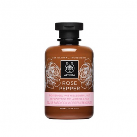 Apivita Rose Pepper Αφρόλουτρο 300 ml