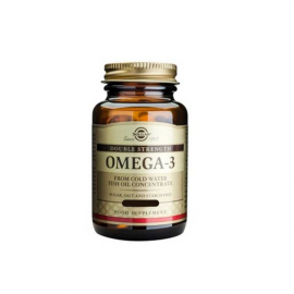 SOLGAR OMEGA 3 DOUBLE STRENGTH 120softgels