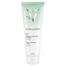 VICHY NORMADERM 3 IN 1 EXFOLIANT- NETTOYANT- MASQUE 125ml