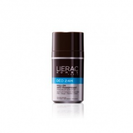 LIERAC HOMME DEO 24H ACTION NON STOP FRESHNESS ANTI-PERSPIRANT ROLL-ON 50ml