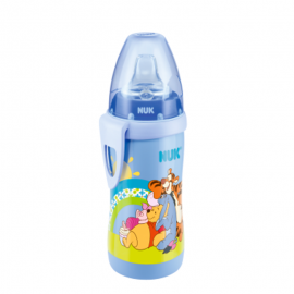NUK Παγουράκι Active Cup Disney Winnie (blue) 300ml (12+)