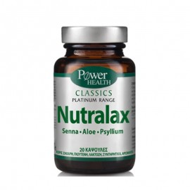 POWER HEALTH CLASSICS PLATINUM RANGE NUTRALAX 20caps