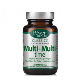 POWER HEALTH CLASSICS PLATINUM RANGE MULTI+MULTI TIME 30tbs
