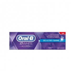 Oral B Οδοντόκρεμα 3D White Luxe Healthy Shine 75ml