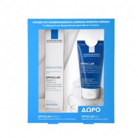 LA ROCHE-POSAY Promo Pack  EFFACLAR DUO [+] 40ml & ΔΩΡΟ Effaclar Gel Moussant Purifiant 50ml