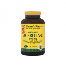 NATURES PLUS Acerola C 500mg 90chew.tabs