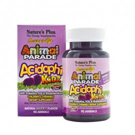 NATURES PLUS Animal Parade AcidophiKiDz 90chew.tabs