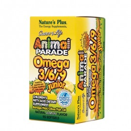 NATURES PLUS Animal Parade Omega 3/6/9 Junior 90softgels