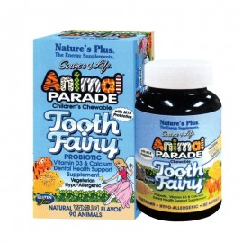 NATURES PLUS Animal Parade Tooth Fairy 90chew.tabs