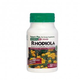 Natures Plus HERBAL ACTIVES Rhodiola 250mg 60caps