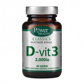 Power Health Classics Platinum Range D-Vit 3 2000iu 60caps