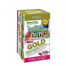 NATURES PLUS Animal Parade Gold(Cherry)60chew.tabs