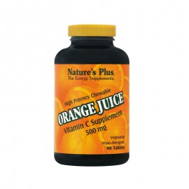 NATURE S PLUS Orange Juice C 500mg 90tabs