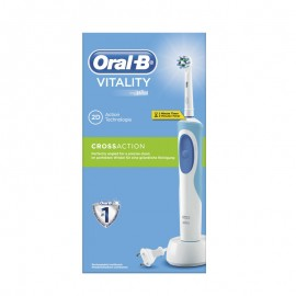 ORAL B Vitality 2D Cross Action Ηλεκτρική Οδοντόβουρτσα 1 τεμάχιο & 1 Κεφαλή Cross Action
