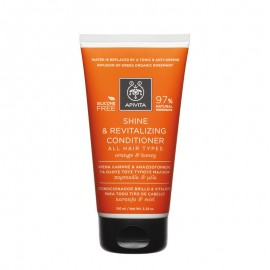 APIVITA SHINE & REVITALIZING CONDITIONER Orange & Honey 150ml