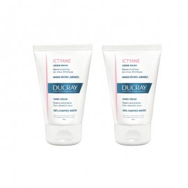 Ducray Promo Pack Ictyane Hand Cream 2x50ml