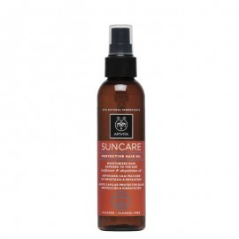 Apivita Suncare Protective Hair Oil Sunflower & Abyssinian Oil Αντηλιακό Λάδι Μαλλίων 150ml.