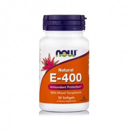 Now Foods - E-1000 Mixed Tocopherols 50SoftGels - Βιταμίνη Ε