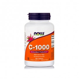 Now foods C-1000 with Rose Hips -  ταχείας αποδέσμευσης 100tabs