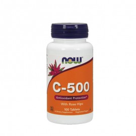 Now foods C-500 With Rose Hips 100tabs