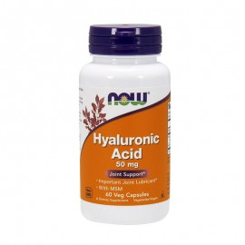 Now foods Hyaluronic Acid 50mg & MSM 450mg 60caps