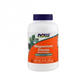 Now Foods Magnesium Citrate Powder Vegetarian 227gr