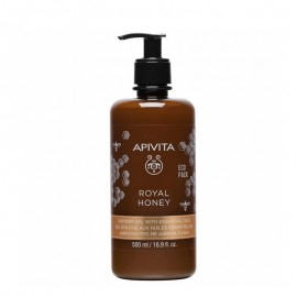 Apivita Royal Honey Shower Gel with Essential Oils Eco Pack 500ml