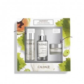 Caudalie Set Vinoperfect Serum Eclat 30ml + Δώρο Vinoperfect Concentrated Brightening Eclat 50ml + Δώρο Vinoperfect Dark Spot Correcting Glycolic Night Cream 15ml