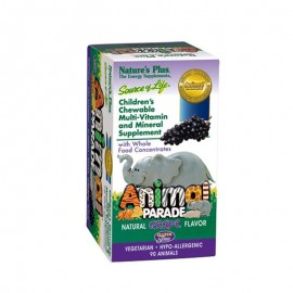 Natures Plus Animal Parade Grape 90 gummies