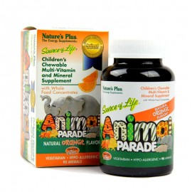 Natures Plus Animal Parade Orange 90 gummies