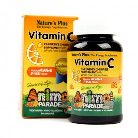 Natures Plus Animal Parade Vitamin C 90 chw tbs