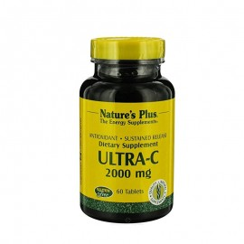 Natures Plus Ultra C 2000 mg S/R Rose Hips 60 tabs