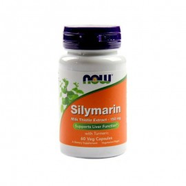 Now Foods Silymarin Milk Thistle Extract 150mg 60veg.caps