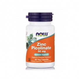 Now foods Zinc Picolinate 50mg 60caps