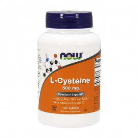 Now L-Cysteine 500mg 100tabs