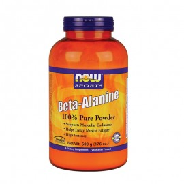Now Sports Beta Alanine Powder High Potency Veg 500gr