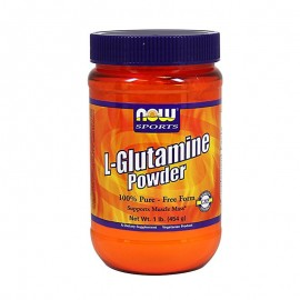 Now Sports L-Glutamine Powder Pure Free Form 454gr