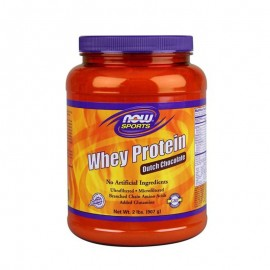 Now Sports Whey Protein Chocolate Γεύση Σοκολάτας, 907gr