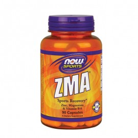 Now Sports ZMA 800mg, Zinc, Magnesium & Vitamin B6 90caps