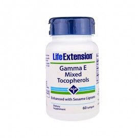 Life Extension Gamma E Tocopherol 60 softgels