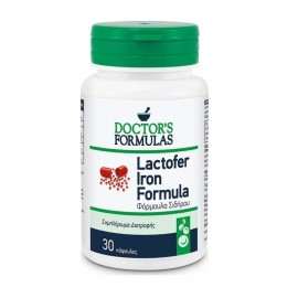 Doctors Formulas Lactofer Iron Formula (30caps) - Φόρμουλα Σιδήρου